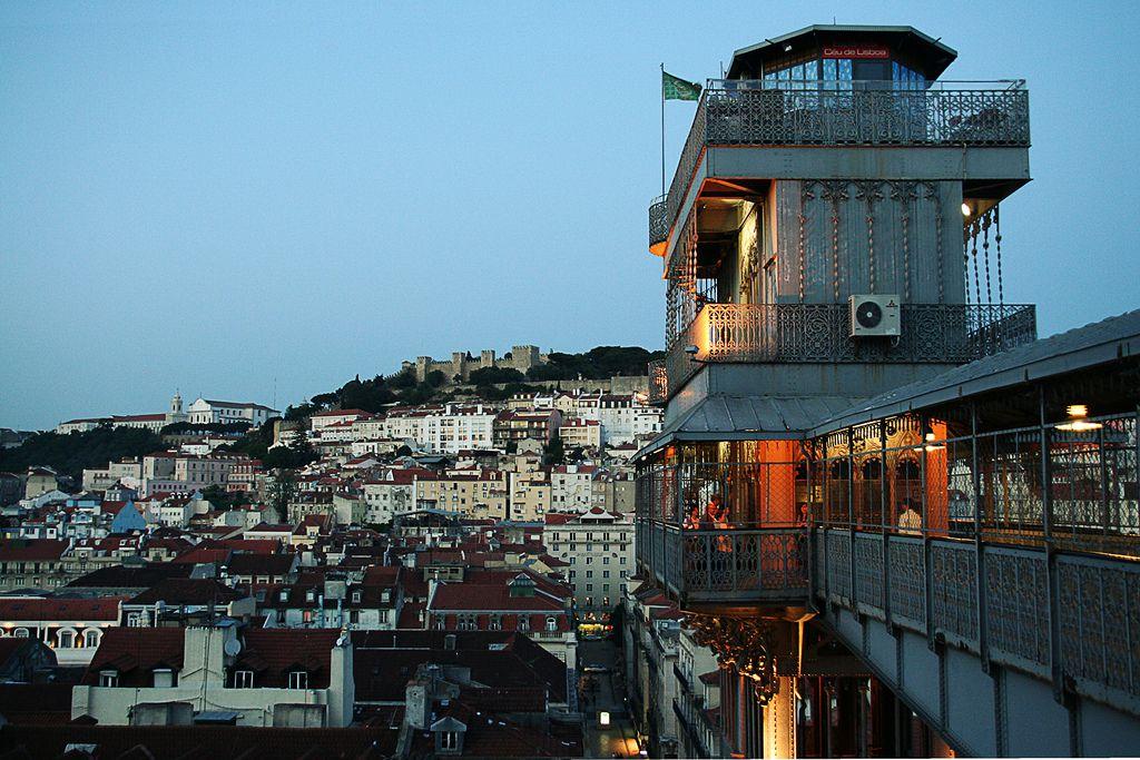 Santa Justa Lift — Lisbon, Portugal