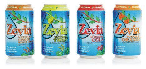 ZEVIA diet soda image
