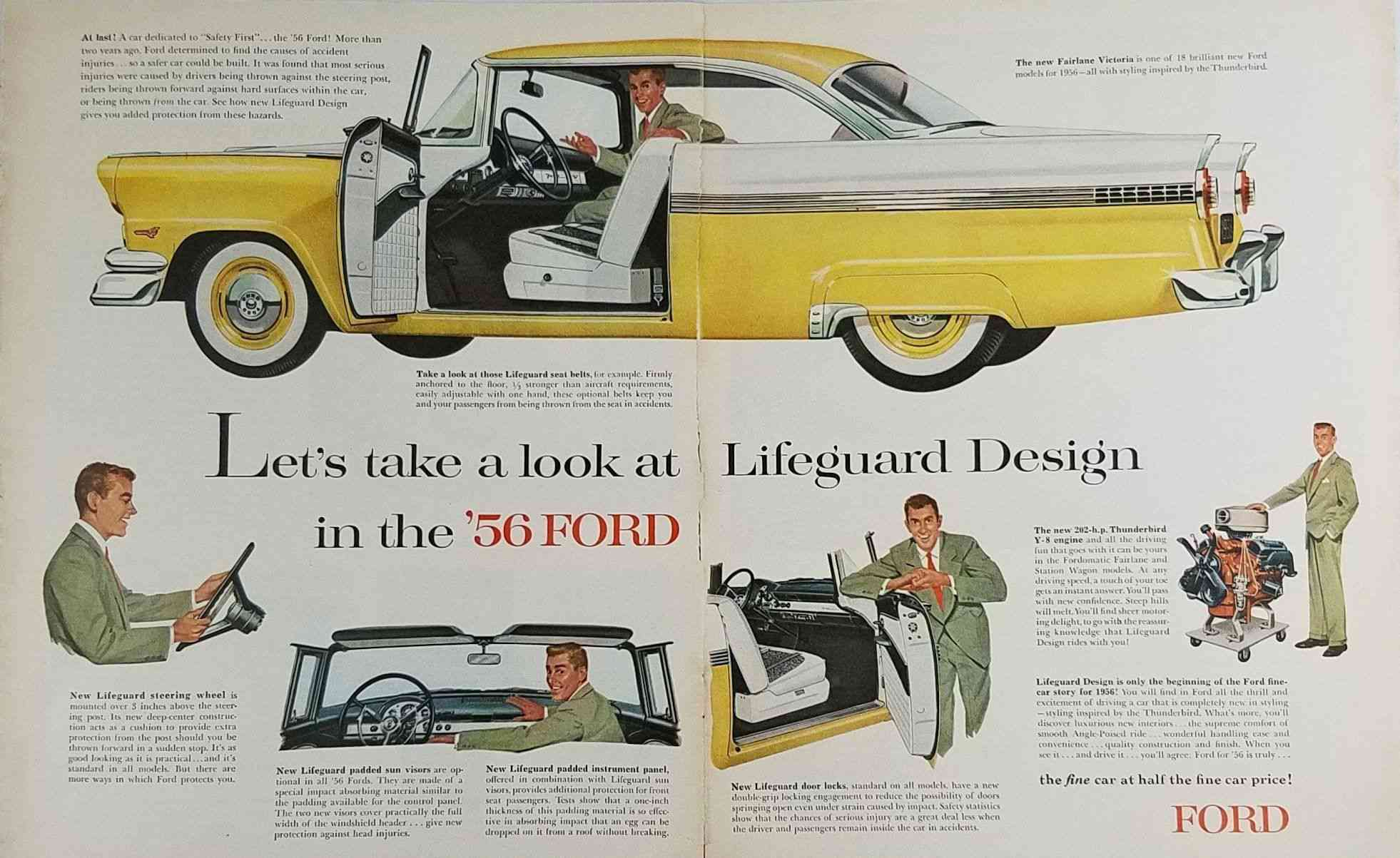 ford ad selling lifeguard Design