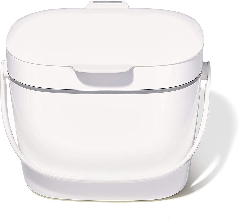 OXO Good Grips Easy-Clean Compost Bin 1.75 Gal