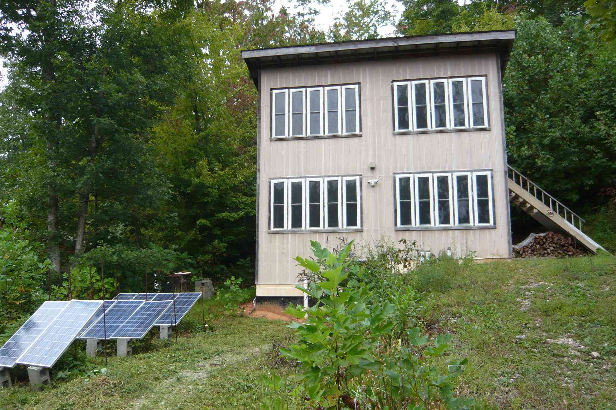 Solar dwelling at Earthaven