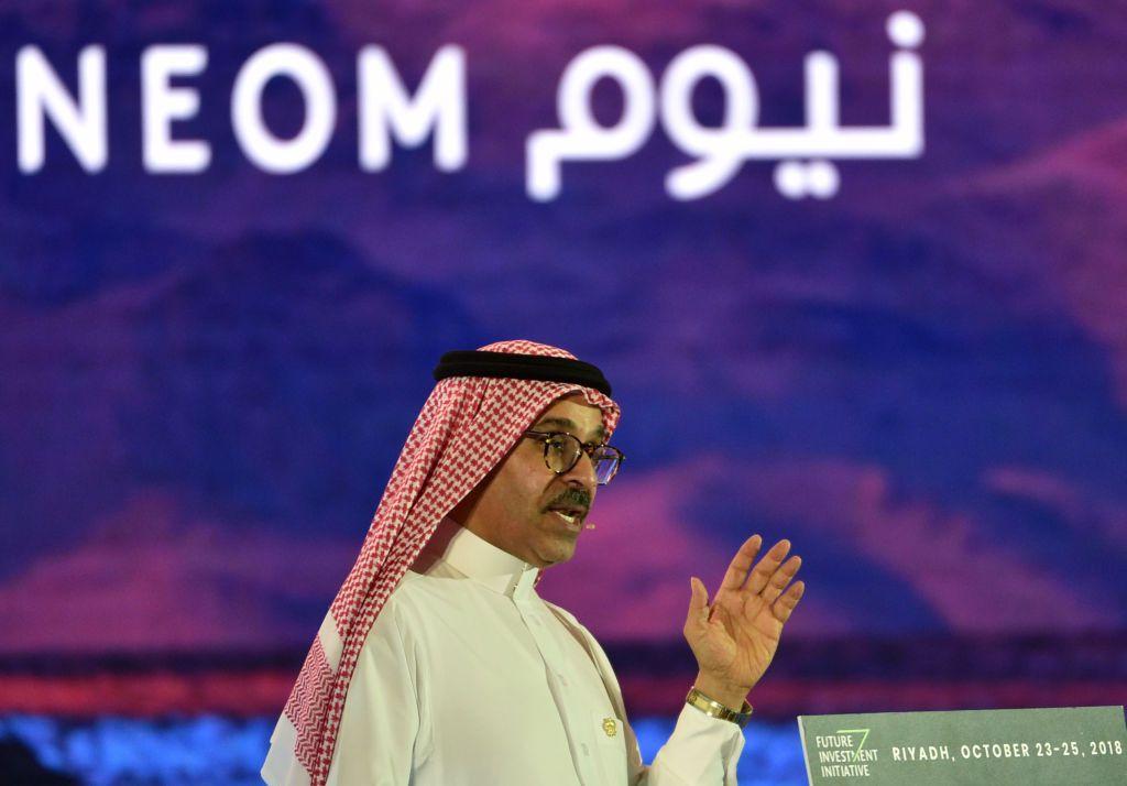 Saudi CEO of NEOM Nadhmi al-Nasr