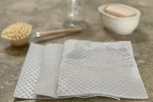 3 Swedish dishcloths sitting on a counter
