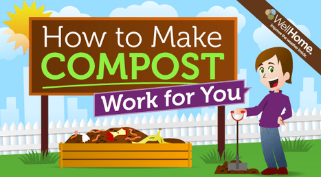 how to make compost work infographic photo