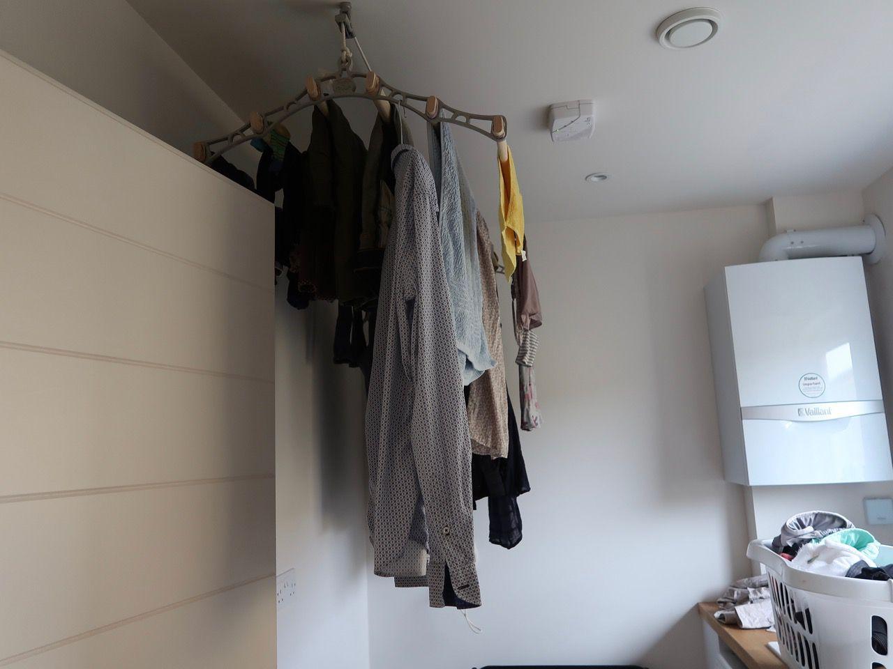 boiler in laundry room