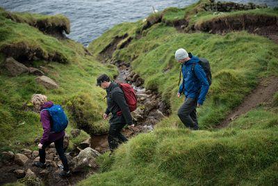 hiking in faroe islands