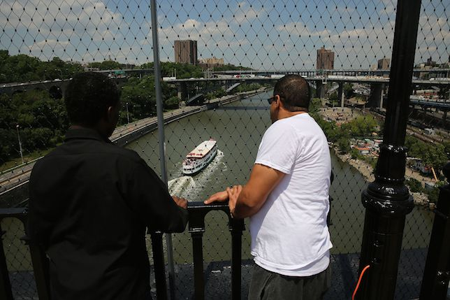 NYC's High Bridge, reopened to pedestrians for the first time in 40 years