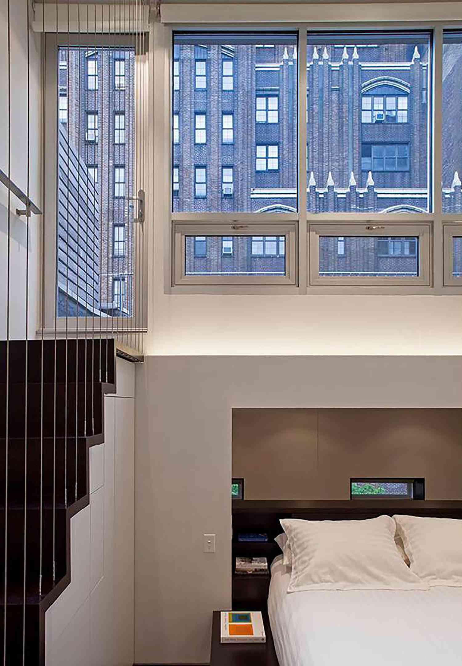 manhattan microloft specht architects top windows and door to garden