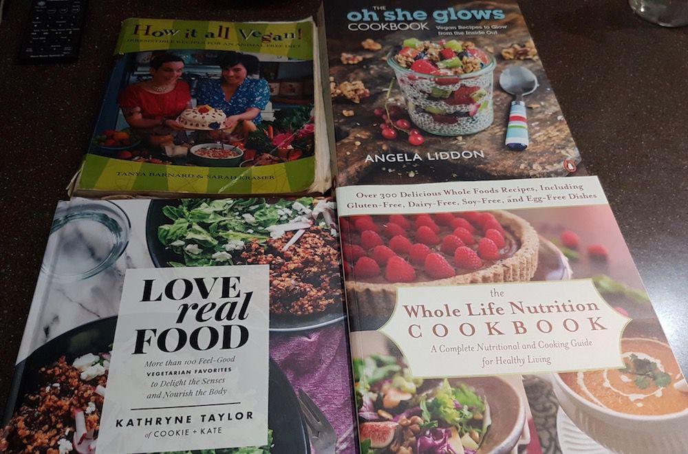 Karly's cookbooks