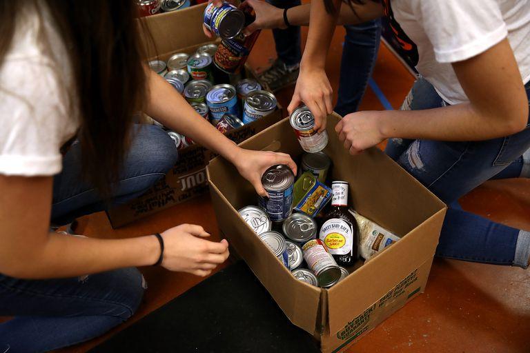 25 de las mejores donaciones de alimentos para alimentos