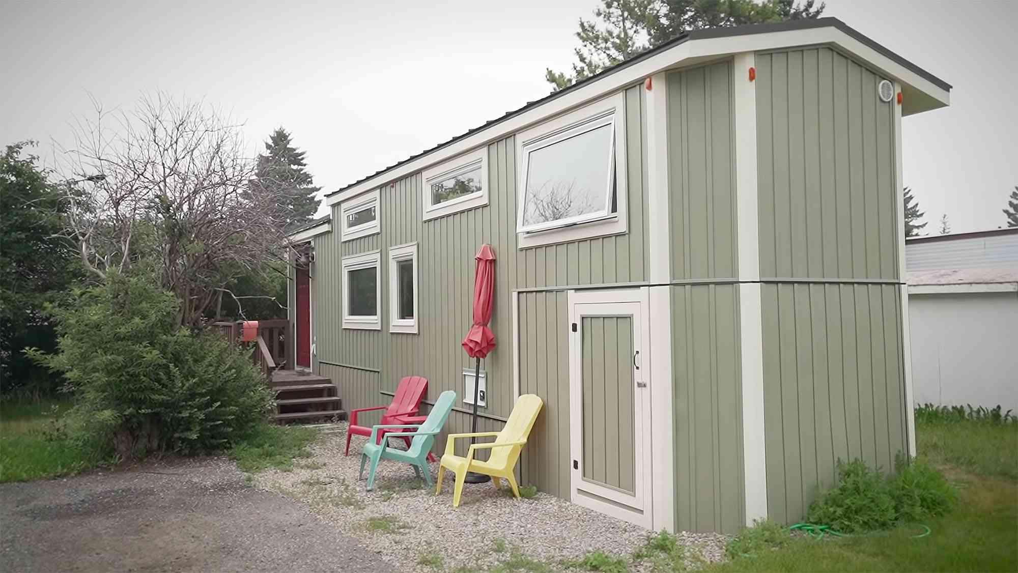 Serendipity tiny house exterior