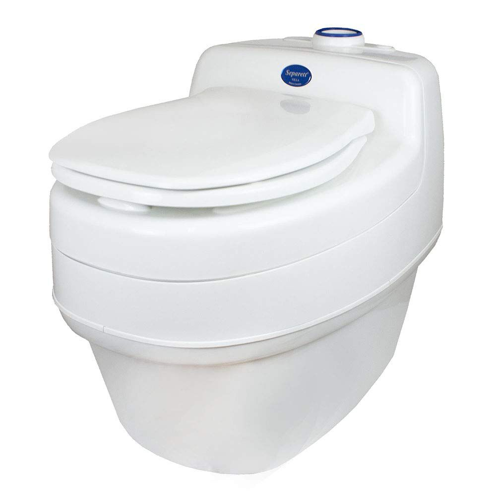 Separett Villa 9215 AC/DC Urine Diverting Toilet