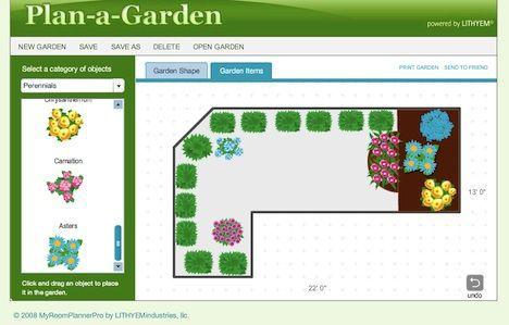 7 High Tech Online Gardening Tools To Plan The Perfect Garden