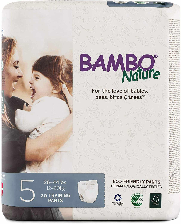 Bambo Nature Eco Friendly Premium Training Pants for Sensitive Skin