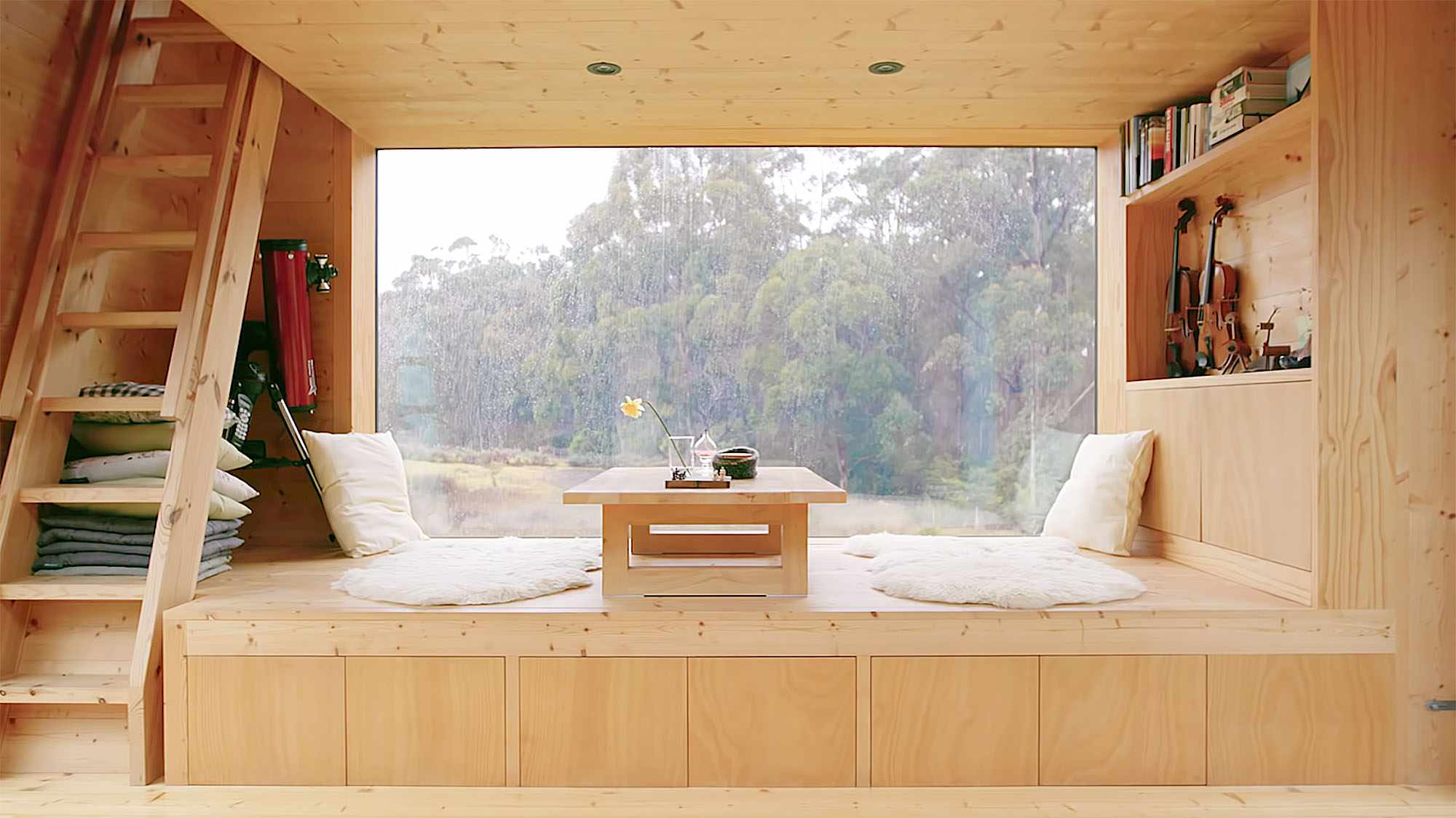Bruny Island Hideaway by Maguire + Devin daybed