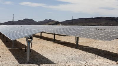 MGM Resorts Mega Solar Array