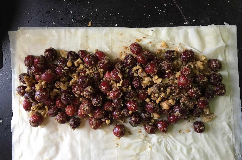 cherry strudel