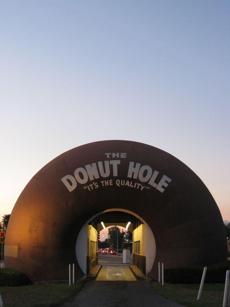 Donut shaped bulding