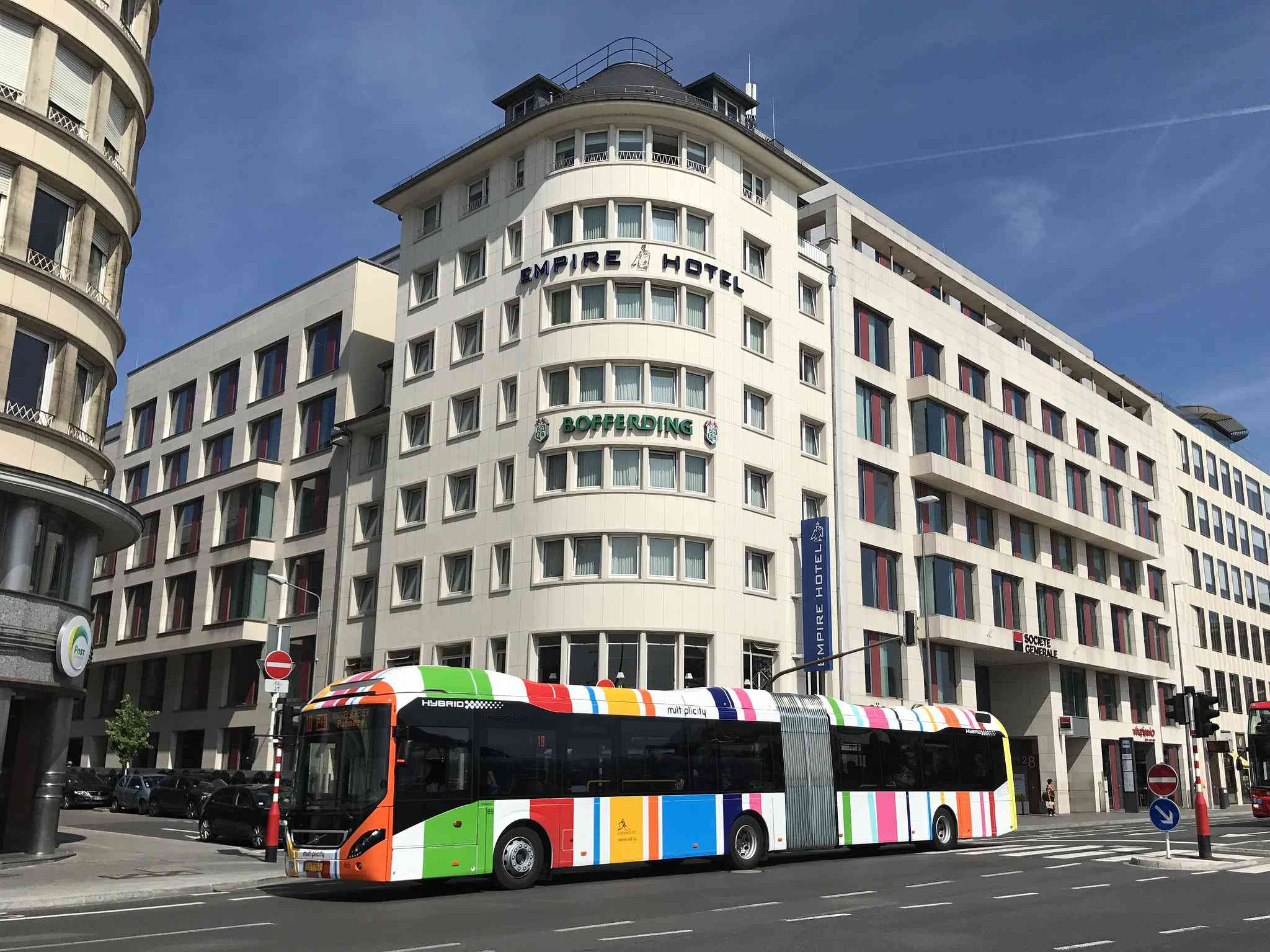 Bus in Luxembourg City