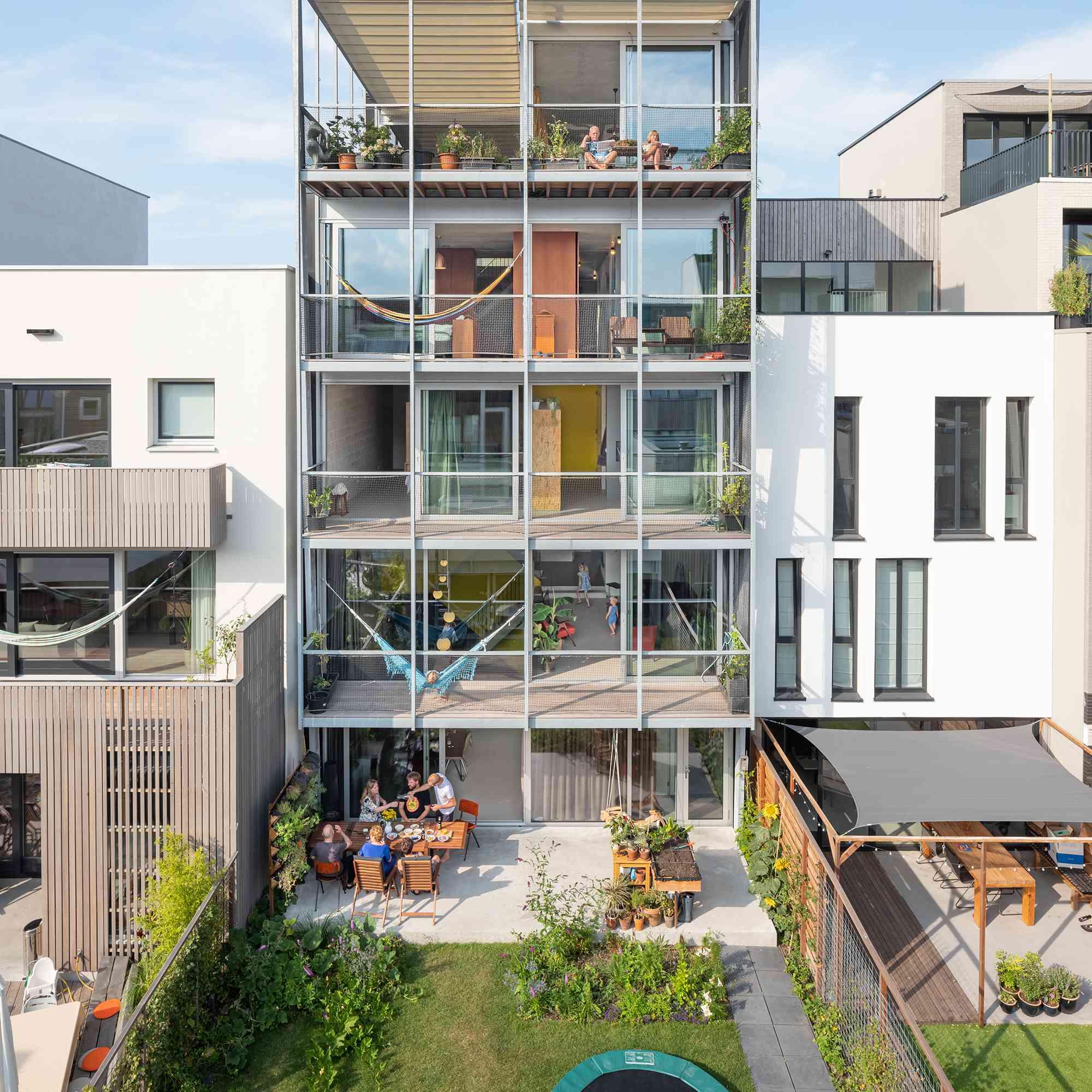 Three Generation House by BETA exterior