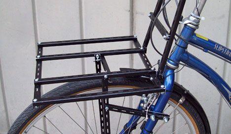 Bike Commuters DIY Rack photo