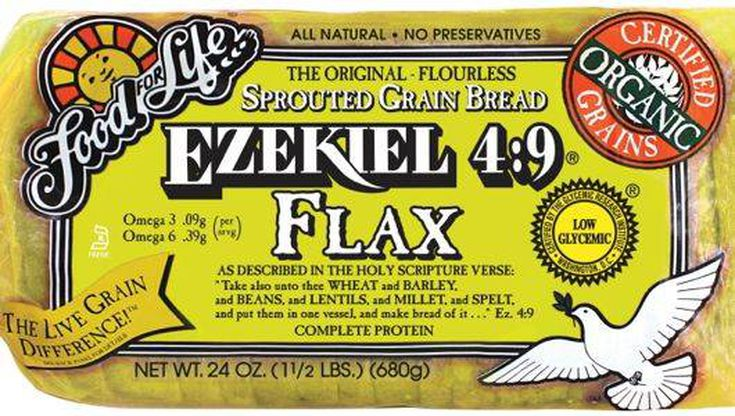Ezekiel 4 9 Sprouted Flax Bread An Organic Powerhouse Of Nutrition
