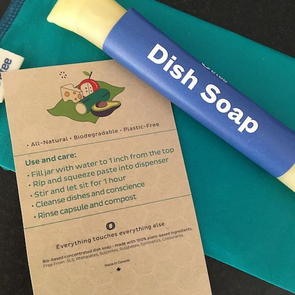 Etee dish soap