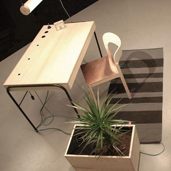 Eddi Törnberg Unplugged desk