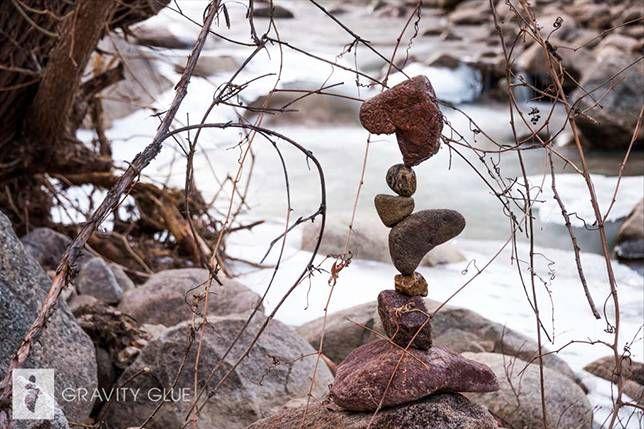 Stone balancing: Memory