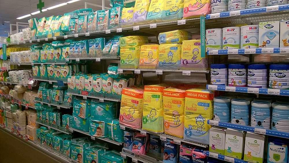 diaper aisle