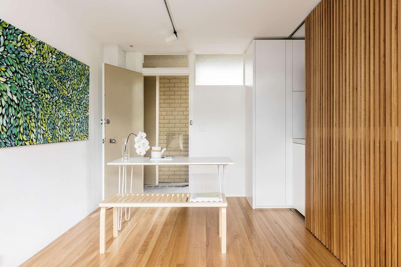 boneca micro-apartment brad swartz architect dining