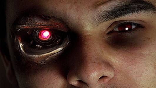 Bionic eye.