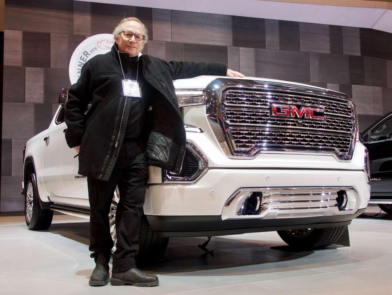 Lloyd with truck