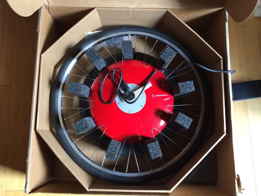Superpedestrian Copenhagen Wheel unboxing