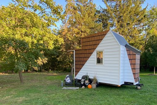The Mountain tiny house by Comak Tiny Homes exterior