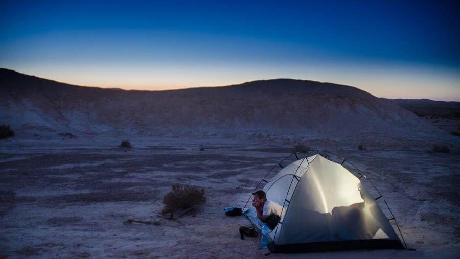 Blue Hour: Negev Desert, Israel