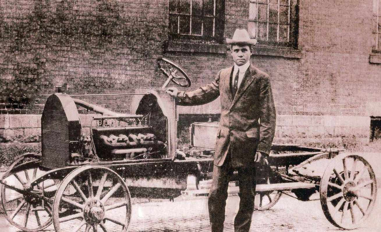 Frederick Douglas Patterson built the Patterson-Greenfield automobile, becoming the first African-American auto manufacturer, in 1915.
