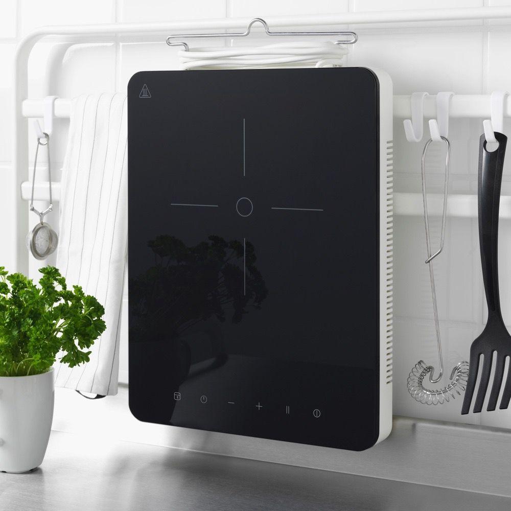 Tillreda stove device hanging on a kitchen rack