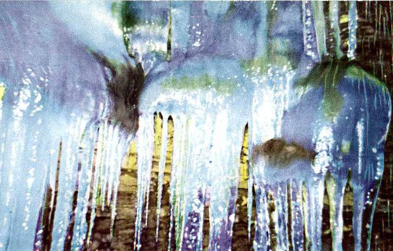 La misteriosa mina de hielo de Pensilvania solo produce hielo en verano