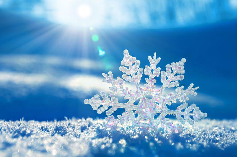Descascaramiento: cómo se forma la nieve