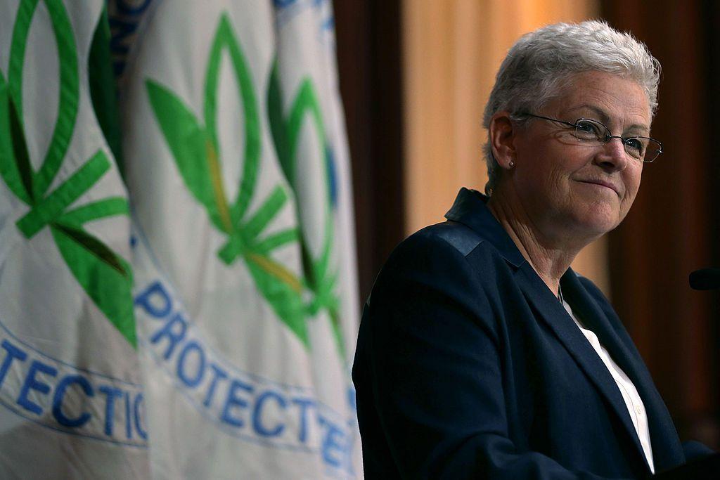 Gina McCarthy spoke at EPA headquarters in Washington, D.C., on June 2, 2014.