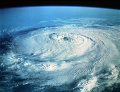 Hurricane Elena in the Gulf of Mexico