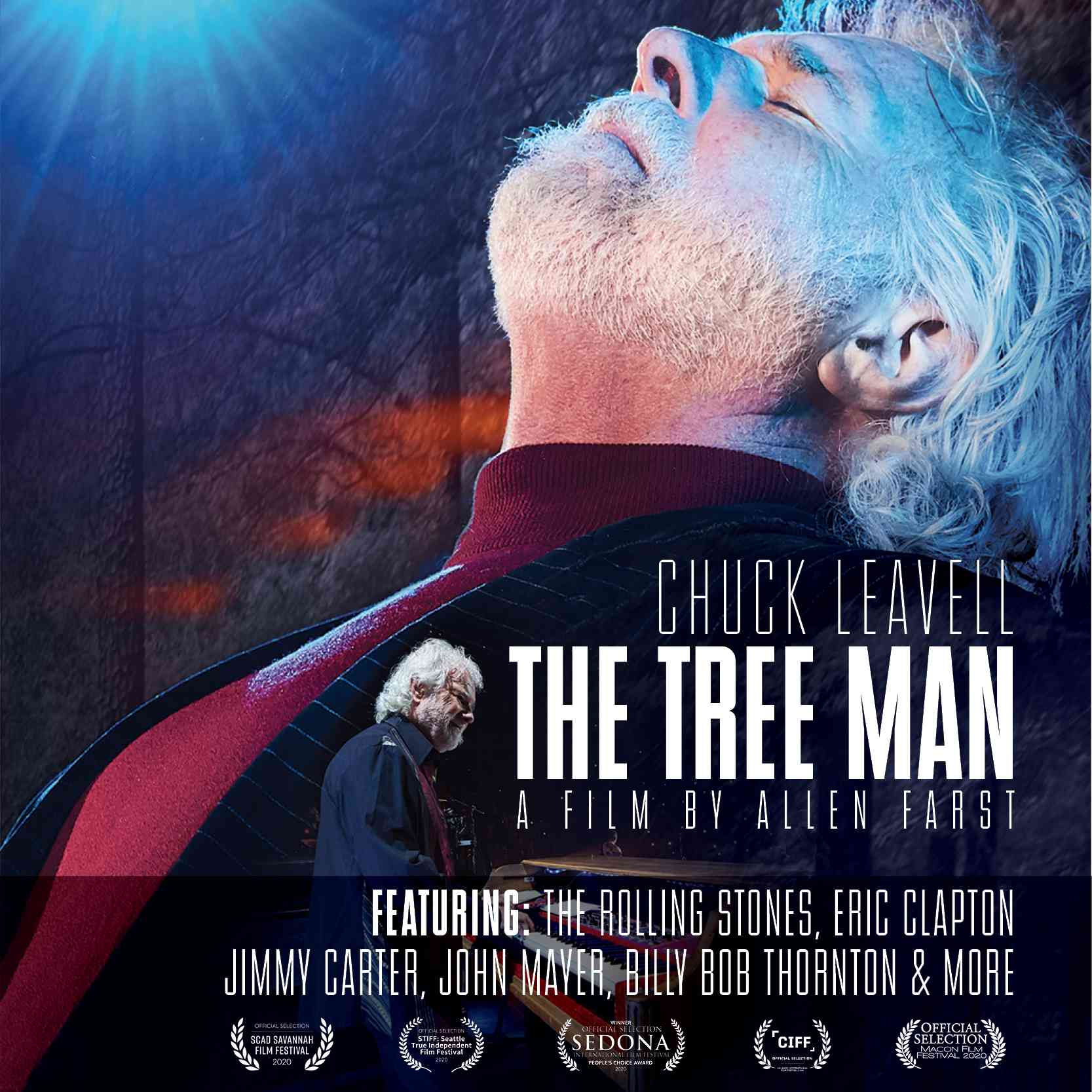 Chuck Leavell movie poster