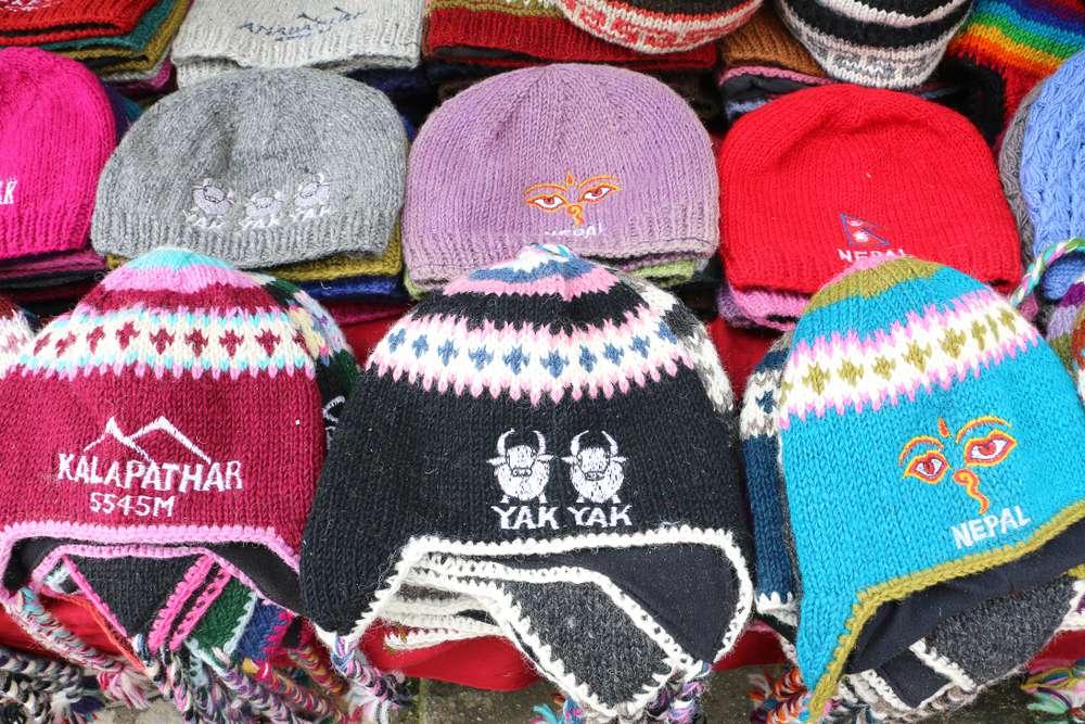 hats made from yak fiber