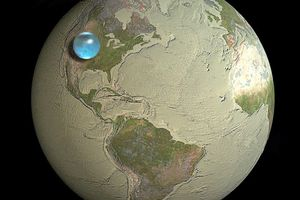 water on earth image