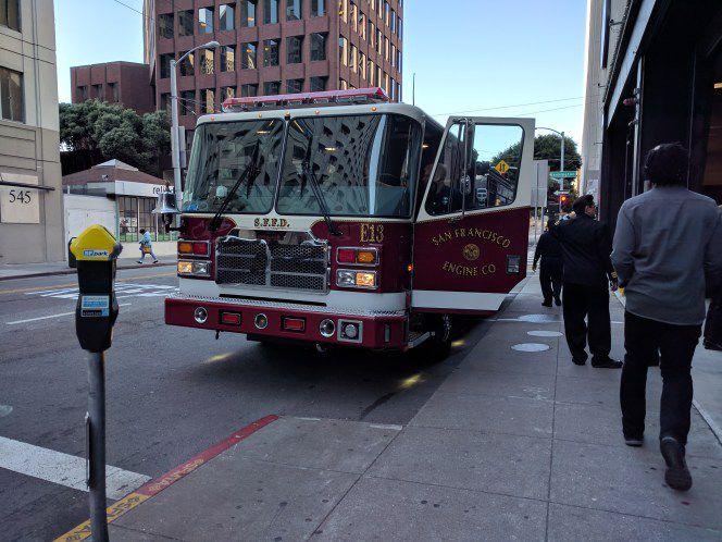 San francisco fire truck
