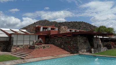 Frank Lloyd Wright's Taliesin West in Arizona