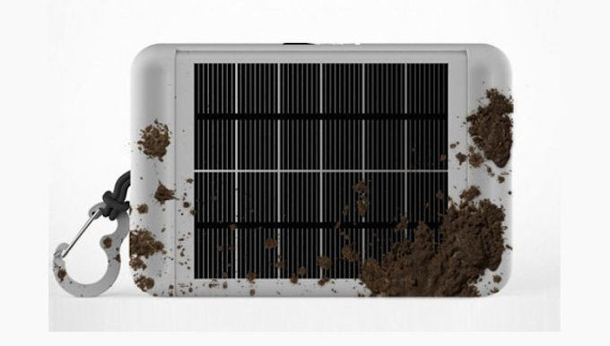 Earl - solar-powered backcountry survival tablet