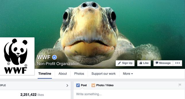 World Wide Fund for Nature on Facebook