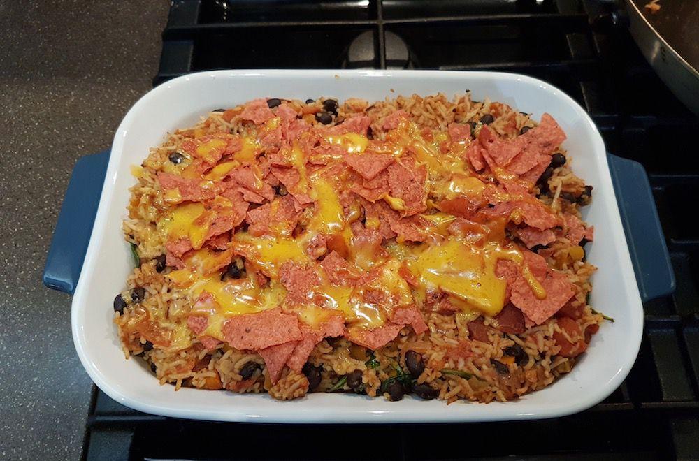 vegan tex-mex casserole